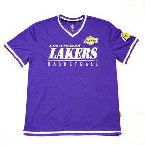 LA Lakers Shooting Training Jersey Shirt Purple